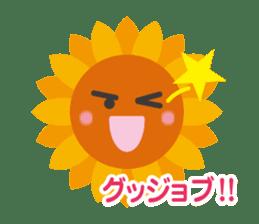 Voice of sunflower sticker #2051031