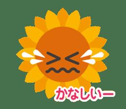 Voice of sunflower sticker #2051036
