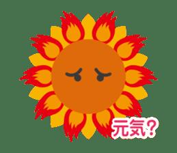 Voice of sunflower sticker #2051040