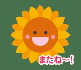 Voice of sunflower sticker #2051042