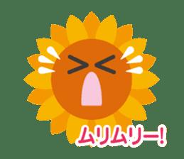 Voice of sunflower sticker #2051043