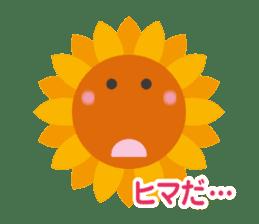 Voice of sunflower sticker #2051046