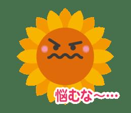 Voice of sunflower sticker #2051048