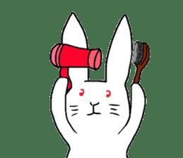 Rabbit Stamp sticker #2051056