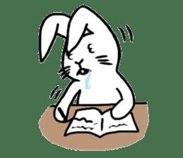Rabbit Stamp sticker #2051069
