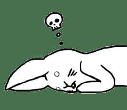 Rabbit Stamp sticker #2051080