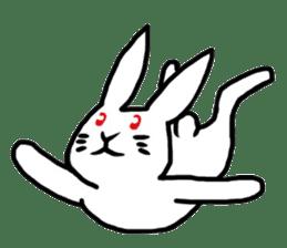 Rabbit Stamp sticker #2051091