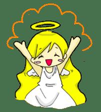 pretty angel & little devil sticker #2051575