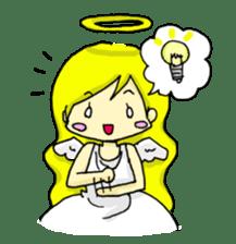 pretty angel & little devil sticker #2051585