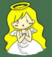 pretty angel & little devil sticker #2051595