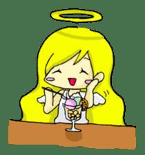 pretty angel & little devil sticker #2051611