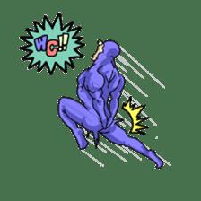 the tights man sticker #2052106