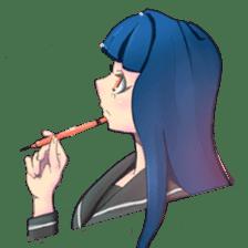 Sailor fuku Girl sticker #2052647