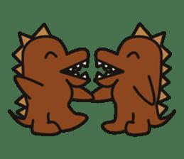 Dinosaurs Love-kun sticker #2053454