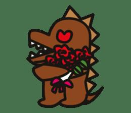 Dinosaurs Love-kun sticker #2053455