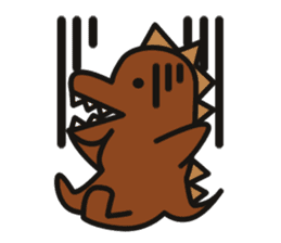Dinosaurs Love-kun sticker #2053456
