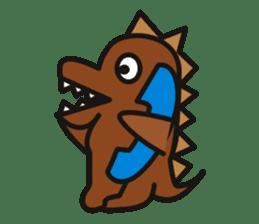 Dinosaurs Love-kun sticker #2053457