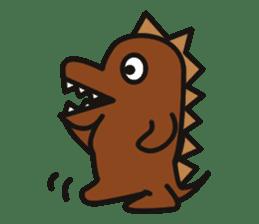 Dinosaurs Love-kun sticker #2053458