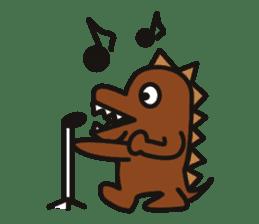 Dinosaurs Love-kun sticker #2053459