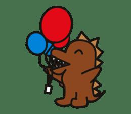 Dinosaurs Love-kun sticker #2053460
