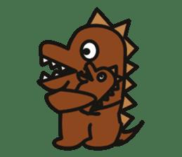 Dinosaurs Love-kun sticker #2053461