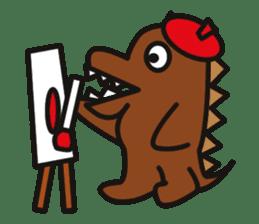 Dinosaurs Love-kun sticker #2053467