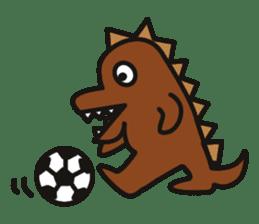 Dinosaurs Love-kun sticker #2053468