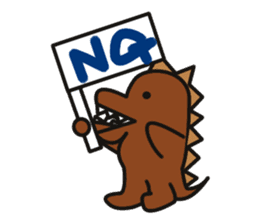 Dinosaurs Love-kun sticker #2053470