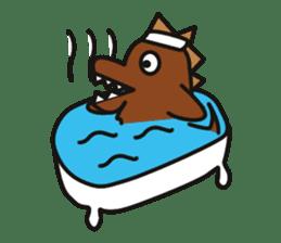 Dinosaurs Love-kun sticker #2053475