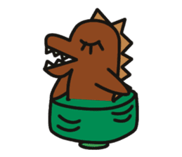 Dinosaurs Love-kun sticker #2053478