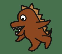 Dinosaurs Love-kun sticker #2053482