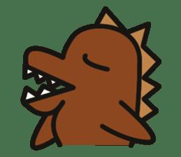 Dinosaurs Love-kun sticker #2053484