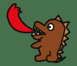 Dinosaurs Love-kun sticker #2053486