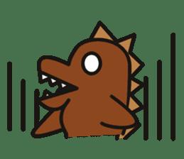 Dinosaurs Love-kun sticker #2053491