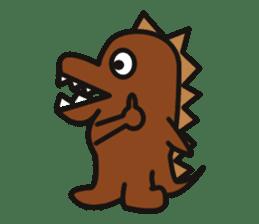 Dinosaurs Love-kun sticker #2053492