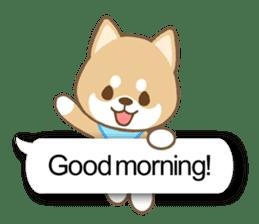 Shiba inu (English version) sticker #2053493