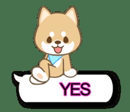Shiba inu (English version) sticker #2053498