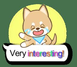 Shiba inu (English version) sticker #2053502