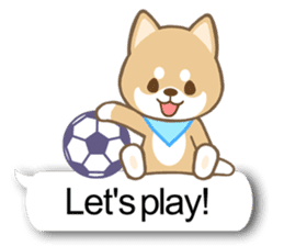 Shiba inu (English version) sticker #2053503