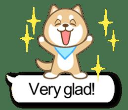 Shiba inu (English version) sticker #2053504