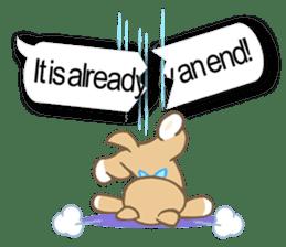 Shiba inu (English version) sticker #2053509