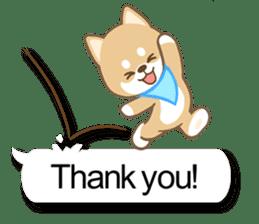 Shiba inu (English version) sticker #2053510