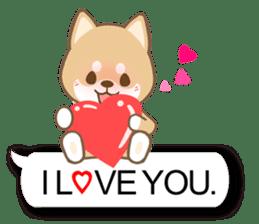 Shiba inu (English version) sticker #2053512