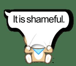 Shiba inu (English version) sticker #2053513