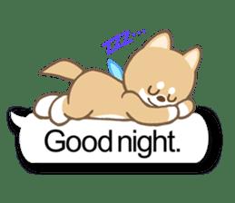 Shiba inu (English version) sticker #2053515