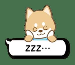 Shiba inu (English version) sticker #2053516