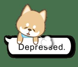 Shiba inu (English version) sticker #2053520