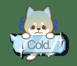 Shiba inu (English version) sticker #2053522