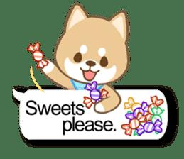 Shiba inu (English version) sticker #2053523