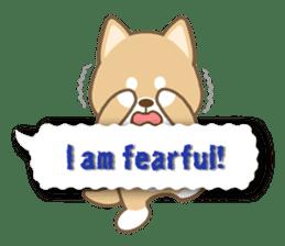 Shiba inu (English version) sticker #2053525